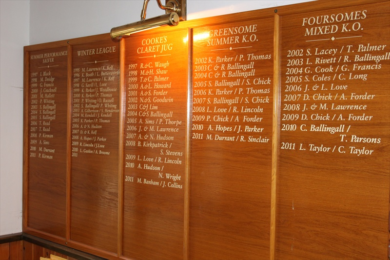 Honours Boards Norwich Norfolk Diss Suffolk