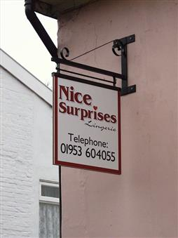 Double Sided Projecting Signs Norwich Norfolk Diss Suffolk
