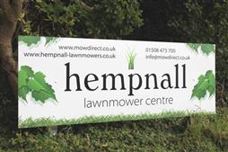 full colour printed sign norfolk
