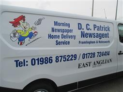 van lettering suffolk